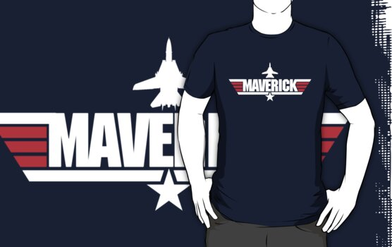 Custom Top Gun Style - Maverick by CallsignShirts