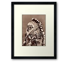 River Chief. Framed Print