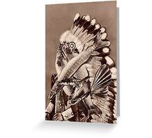 River Chief. Greeting Card