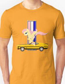 Mustang Fluttershy Unisex T-Shirt