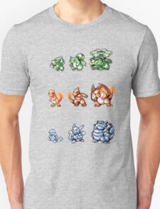 Starter Pokemon evolutions T-Shirt
