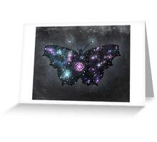 Cosmic Butterfly  Greeting Card
