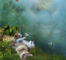 Kitty Wishes by Carol  Cavalaris