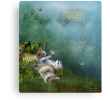 Kitty Wishes Canvas Print