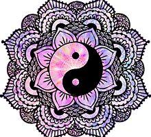 Yin Yang Mandala by sophhsophh