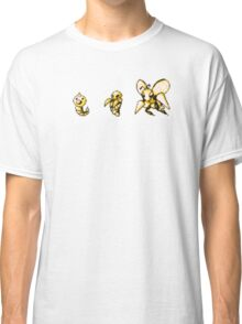 Weedle evolution  Classic T-Shirt