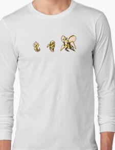 Weedle evolution  Long Sleeve T-Shirt