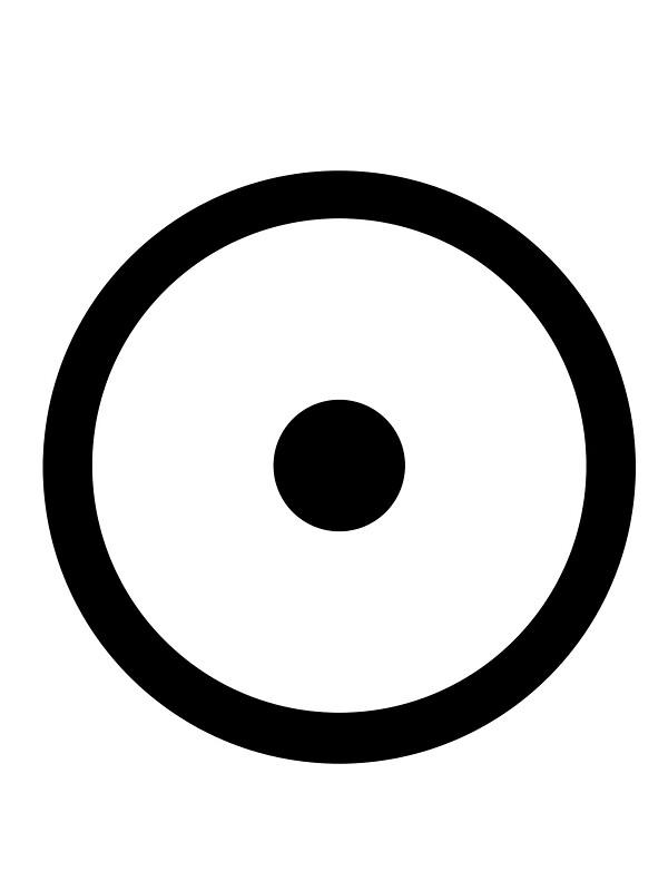 quotgold sun alchemical symbolquot stickers by cadellin
