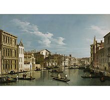 Grand Canal from Palazzo Flangini to Palazzo Bembo, c.1740 Photographic Print
