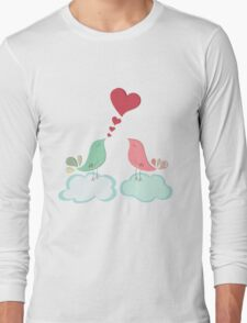 Love bird couple  Long Sleeve T-Shirt