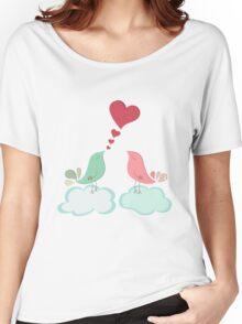 Love bird couple  Women's Relaxed Fit T-Shirt
