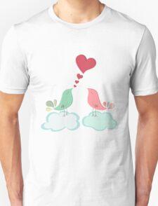 Love bird couple  Unisex T-Shirt