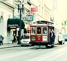 San Francisco Cable Car by Kasia-D