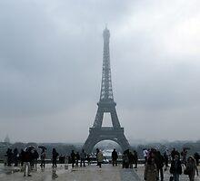 Eiffel Tower. by FloorPies