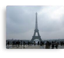 Eiffel Tower. Canvas Print