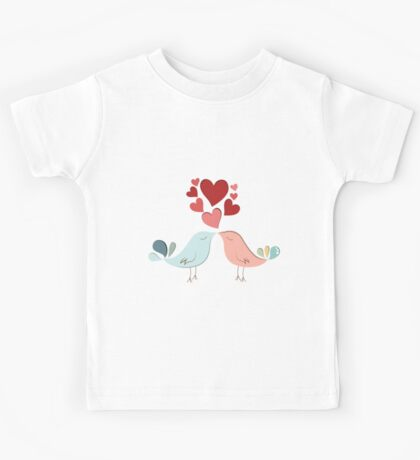 Bird lovers Kids Tee