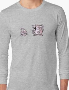 Rattata evolution  Long Sleeve T-Shirt