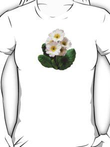 Small White Primroses T-Shirt