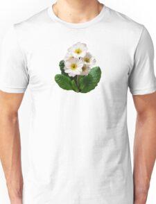 Small White Primroses Unisex T-Shirt