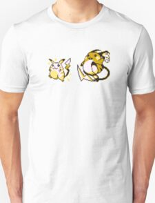 Pikachu evolution  T-Shirt