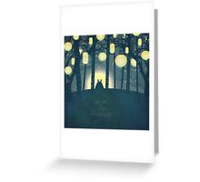 Totoro ' s Dream Greeting Card