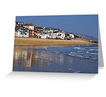 Along The Waterfront ~ Lyme Regis Greeting Card
