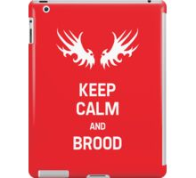 Keep Calm and Brood iPad Case/Skin