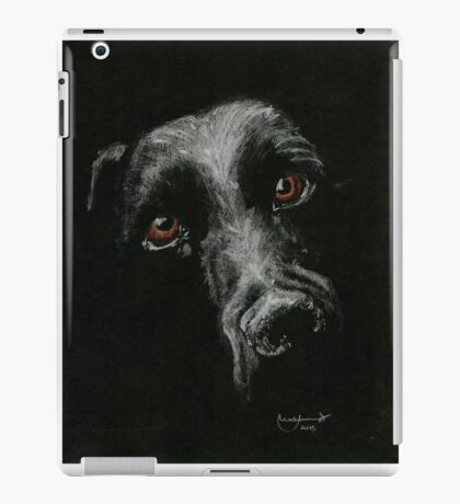 Sad Brown Eyes iPad Case/Skin