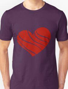 Valentine day doodle hearts Unisex T-Shirt