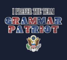 Grammar Patriot Kids Clothes