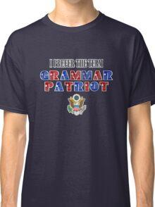 Grammar Patriot Classic T-Shirt