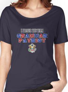Grammar Patriot Women's Relaxed Fit T-Shirt