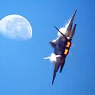 Heat haze to the moon by John Conway