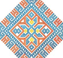 Native Embroidery Pattern 3 by RedPine