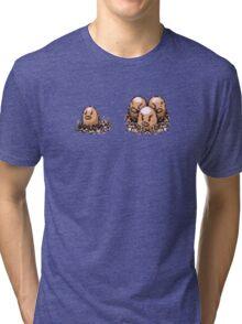 Diglett  evolution  Tri-blend T-Shirt