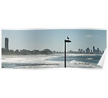 View of Surfers Paradise Poster