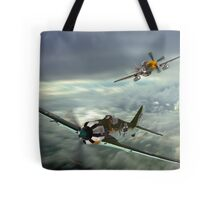 The Skies Over Germany ! Tote Bag