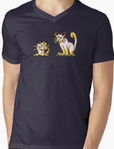 Meowth evolution  Mens V-Neck T-Shirt