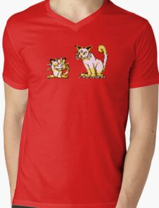 Meowth evolution  Mens V-Neck T-Shirt