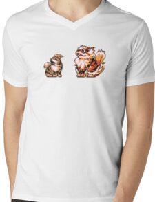 Growlithe evolution  Mens V-Neck T-Shirt