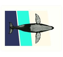 Gone Whale  Art Print