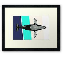 Gone Whale  Framed Print
