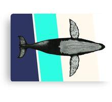 Gone Whale  Canvas Print