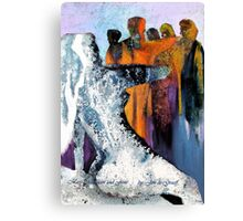 Mary Magdelin and Jesus Canvas Print