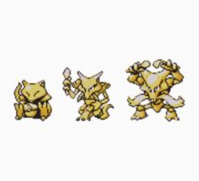 Abra evolutions by kyokenbyo
