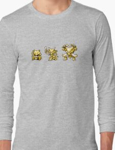 Abra evolutions Long Sleeve T-Shirt