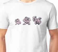 Machop evolution  Unisex T-Shirt