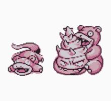 Slowpoke evolution  by kyokenbyo