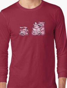 Slowpoke evolution  Long Sleeve T-Shirt
