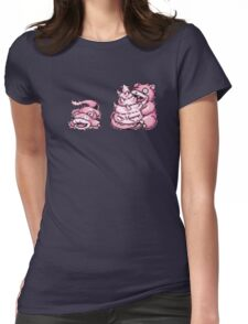 Slowpoke evolution  Womens Fitted T-Shirt